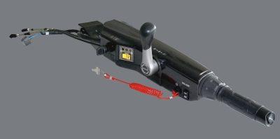 Suzuki-perämoottori-käsi-ohjaus